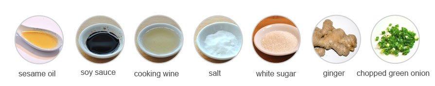 Seasonings of Wonton
