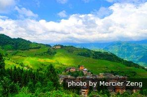 the Longji Terraces