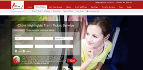china highlights train ticket servcice
