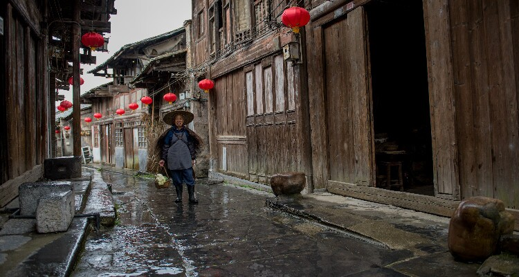 The Daxu Old Town