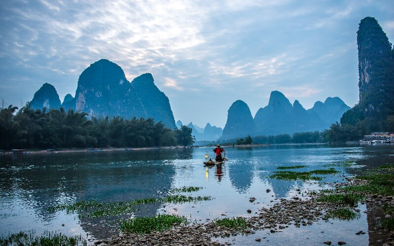 A Day in Guilin - Big Budget (the Sky's the Limit)