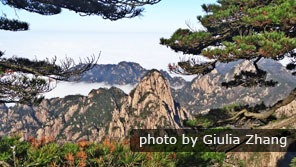 Huangshan in autumn