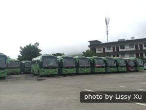 Mao'er Shan Shuttle Buses