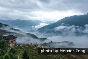 Guilin Day tour to the Longji Rice Terraces in spring
