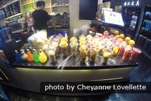 Chinese Underground Fashion Market - Coffee and Juice Bar
