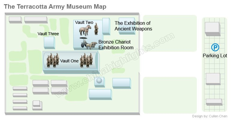 The Terracotta Army Musuem Map