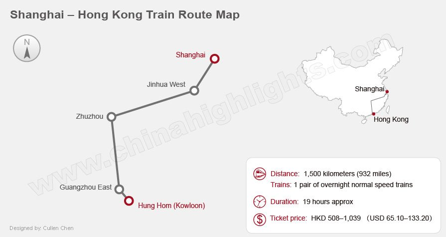 shanghai hong kong international train railway map
