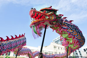 Dragons are a symbol of China