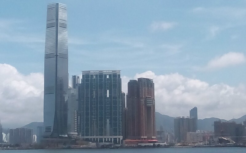 Hong Kong's International Commerce Center Tower
