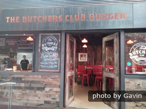 Butchers Club Burger entrance