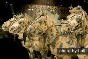 Bronze Horses in the Terracotta Army