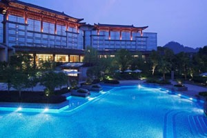 China family hotel Shangri-La Hotel, Guilin