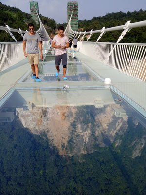 zhangjiajie grand canyon glass bridge - Zhangjiajie Glass Bridge
