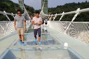 Visit Zhangjiajie Grand Canyon Glass Bridge with us.