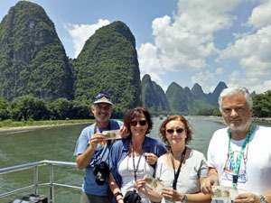 the Li River Cruise to Yangshuo