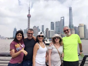 Our guests had a great time in shanghai.