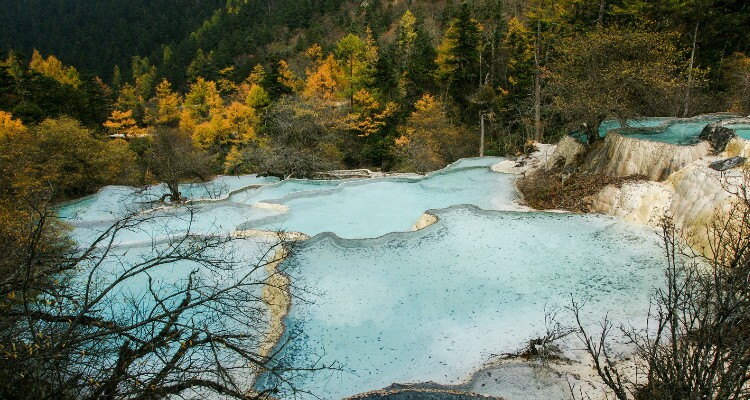 The Huanglong Scenic Area
