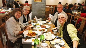 Have authentic Chinese food