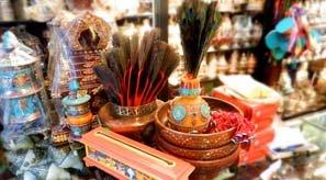 tibetan-style ornaments