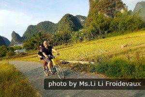 Tour à vélo au cœur de la campagne