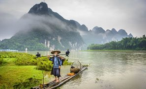 the Li River in Spring