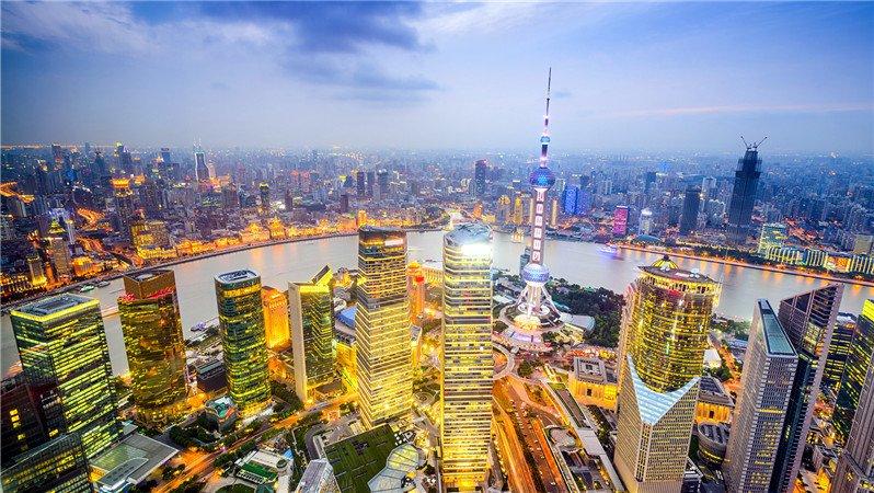 上海的摩天大楼