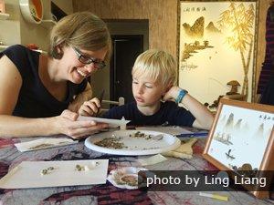 Li River Pebbles Art Experience