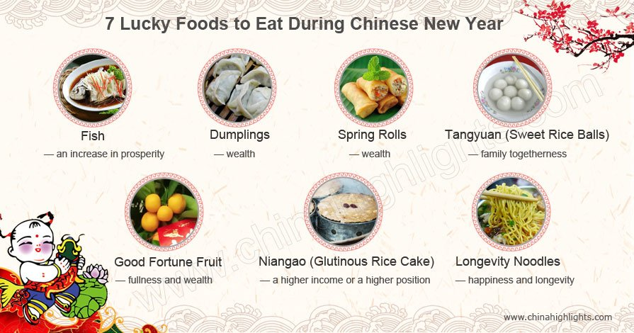 Chinese New Year food
