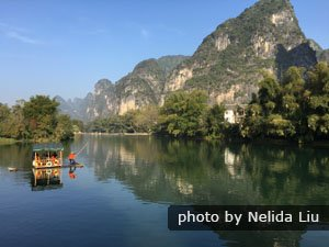 The countryside of Yangshuo
