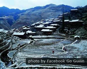 Longji in winter