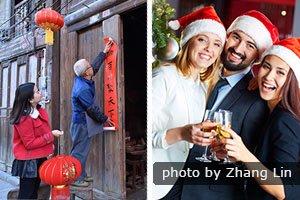 Chinese New Year VS Christmas