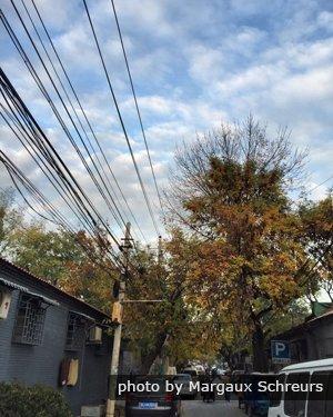 Beijing Hutongs Skies