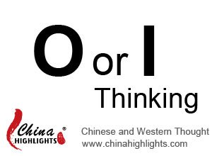O or I Thinking, Chinese and Western Thought