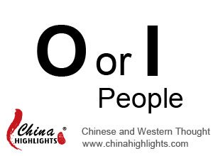 O or I People, Chinese and Western Thought
