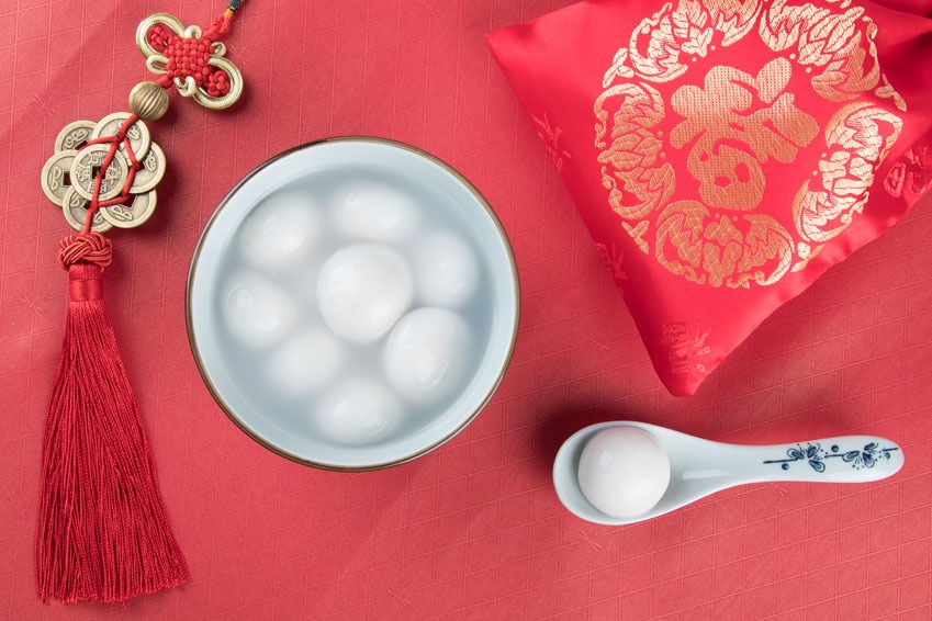 chinese new year lantern festival food:tangyuan