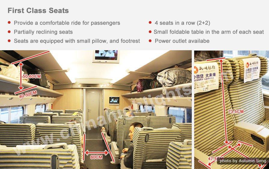 first class seats