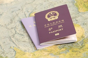 Passport copies and other information can be stored securely online for emergency use.