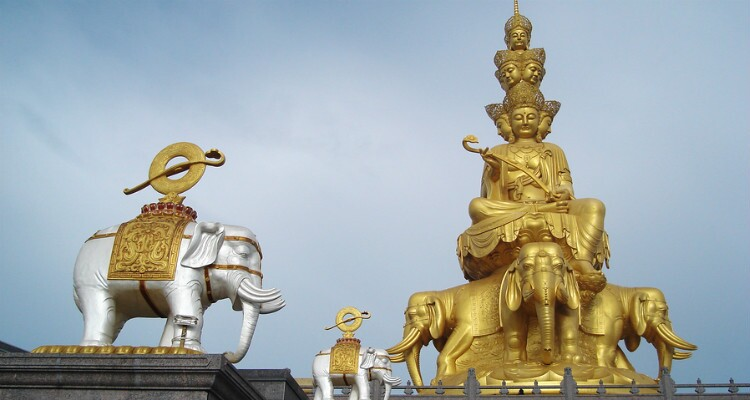 The Gold Summit of Mt.Emei