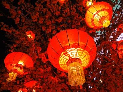 Lanterne rosse capodanno cinese