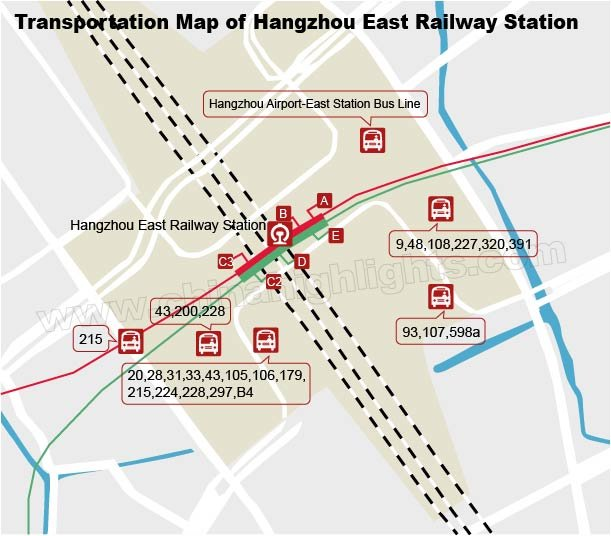 Hangzhou East Railway Station Our User Guide