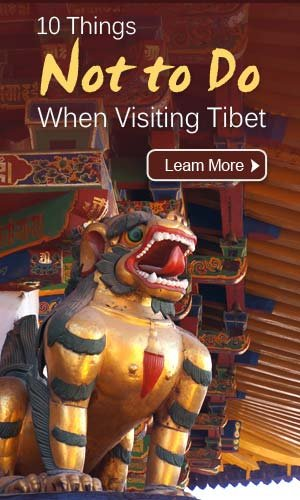 things not to  do in Tibet