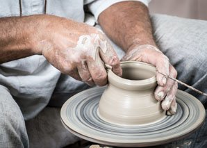 Porcelain making