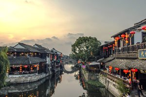 Xitang near Hangzhou was a Song era water town.