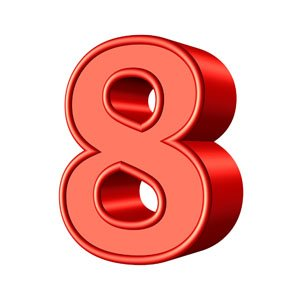 '8' is the most favored number in modern China