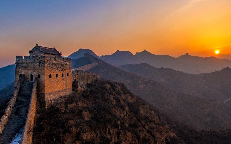 Beijing - Badaling (Great Wall) High-Speed Train