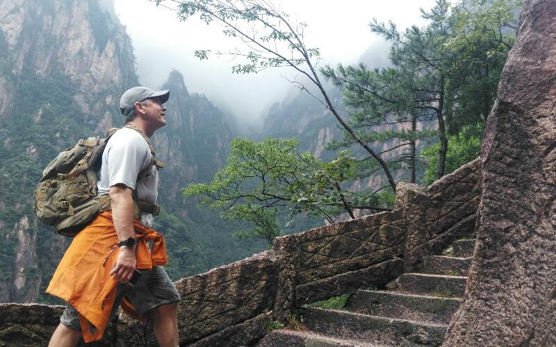 The Yellow Mountain Hiking