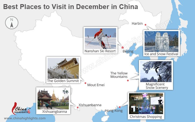 Top 6 places to visit in december in china for Best place to travel in december
