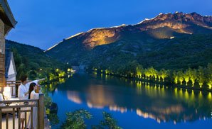 simatai night view