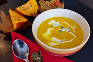 fragrant pumpkin soup