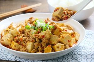 Chinese dishes, popular Chinese food, Chinese Ma Po Tofu